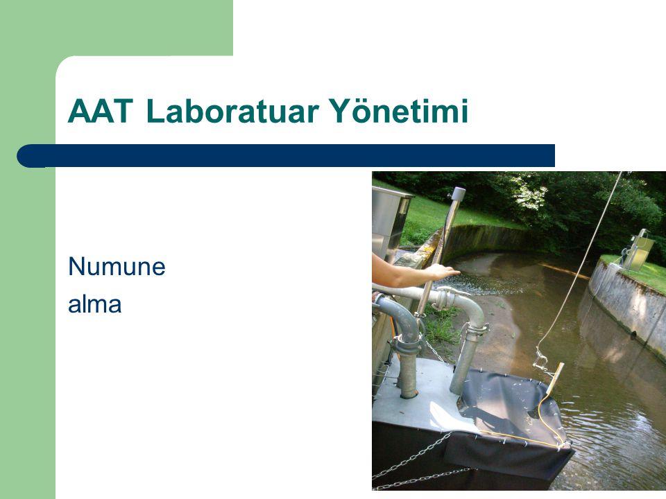AAT Laboratuar Yönetimi