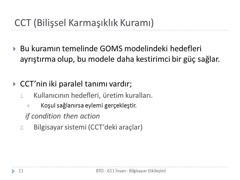 CCT (Bilişsel Karmaşıklık Kuramı)