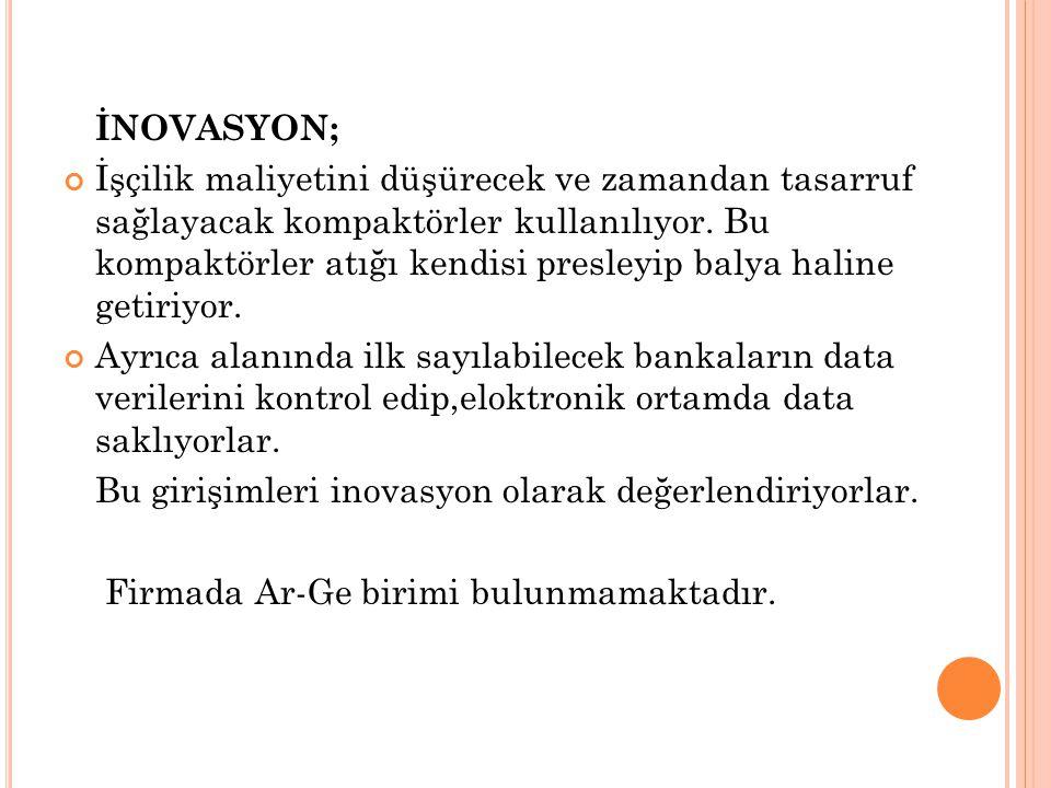 İNOVASYON;