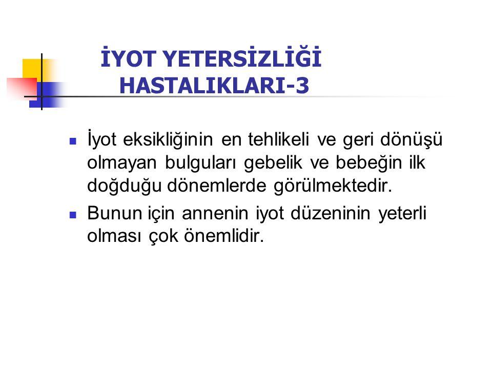 İYOT YETERSİZLİĞİ HASTALIKLARI-3
