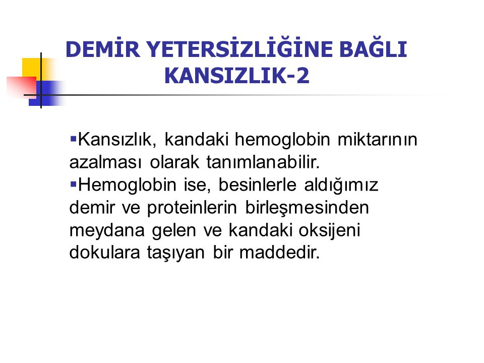 DEMİR YETERSİZLİĞİNE BAĞLI KANSIZLIK-2