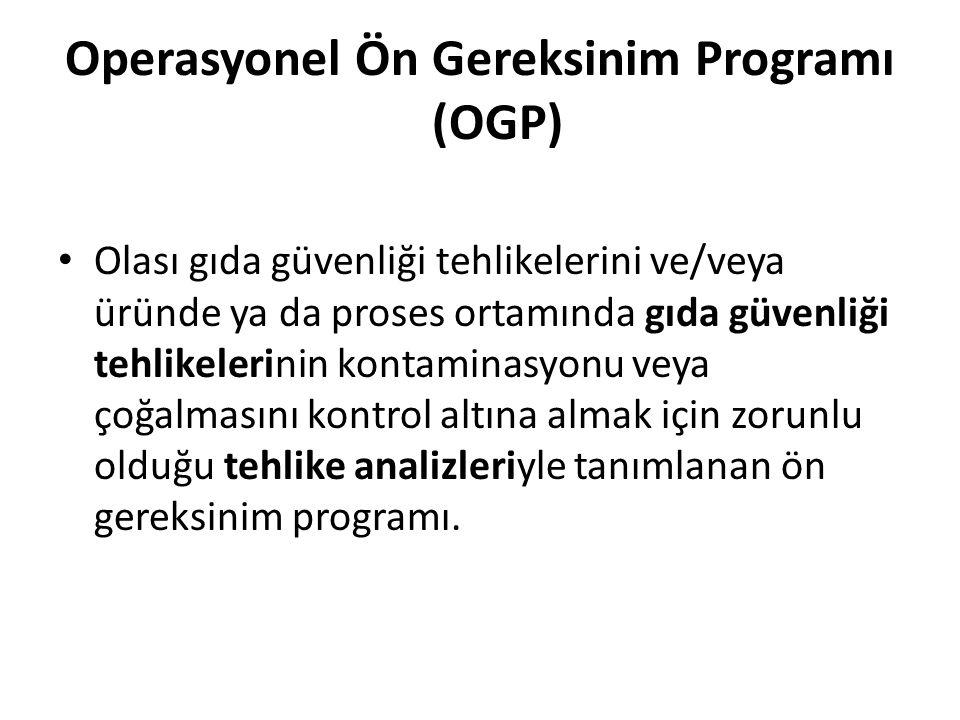 Operasyonel Ön Gereksinim Programı (OGP)