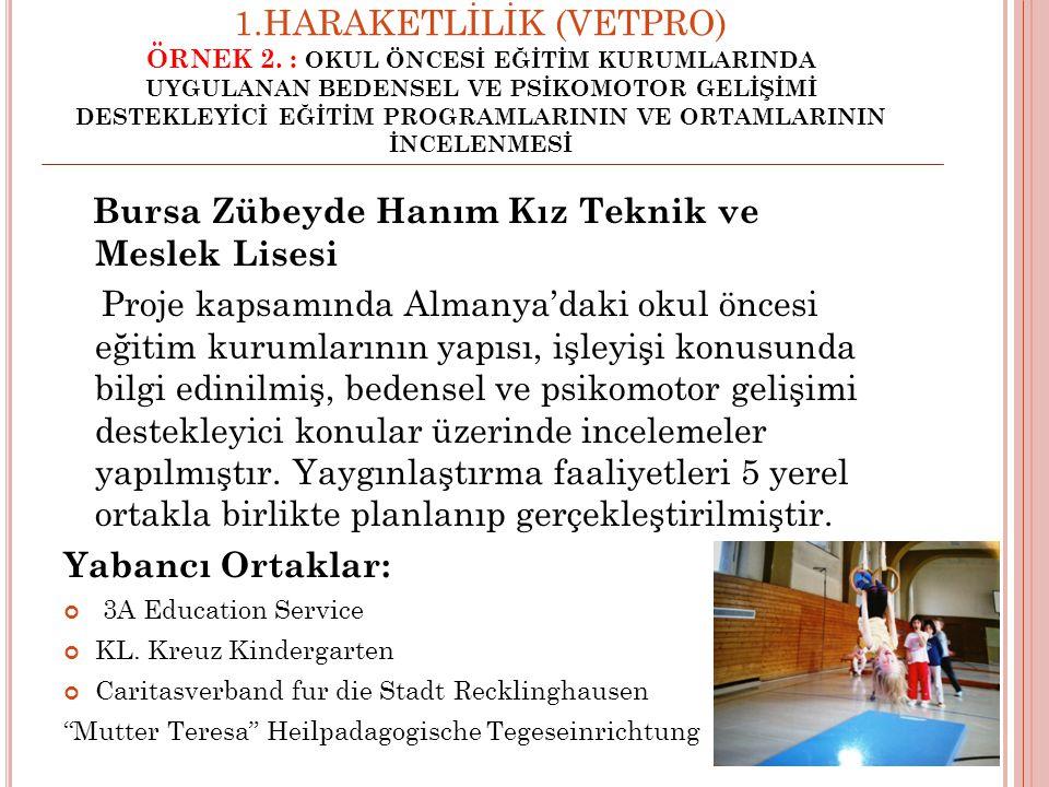 Bursa Zübeyde Hanım Kız Teknik ve Meslek Lisesi