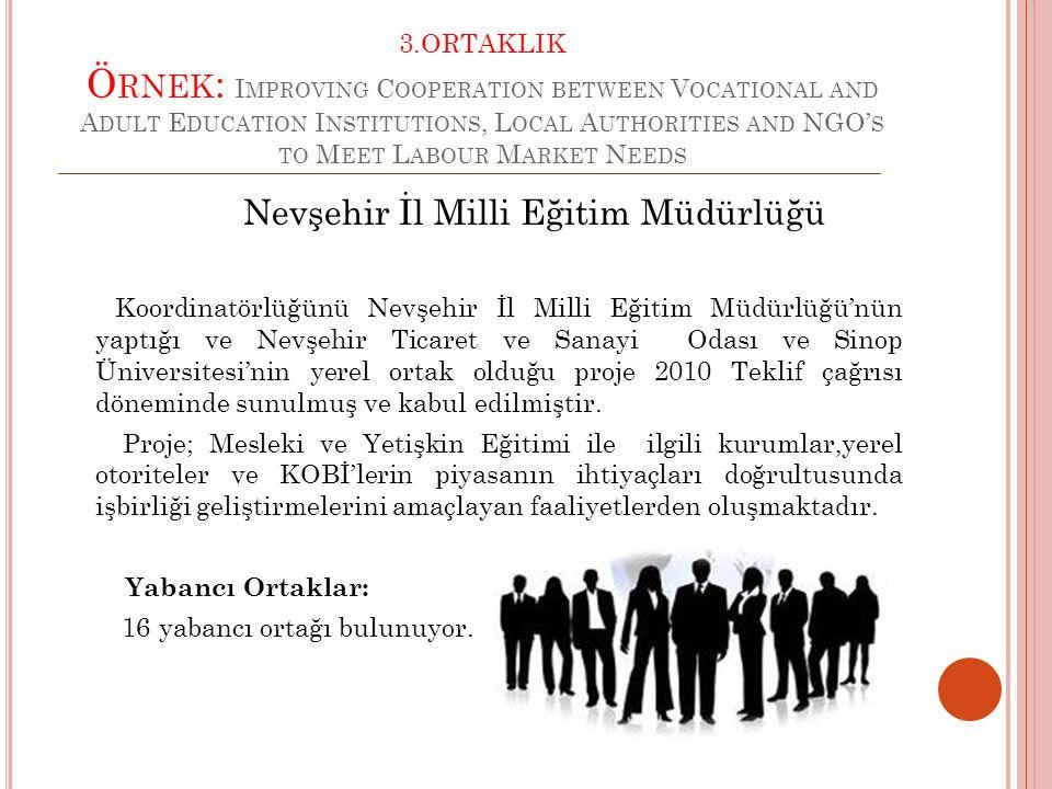 Nevşehir İl Milli Eğitim Müdürlüğü