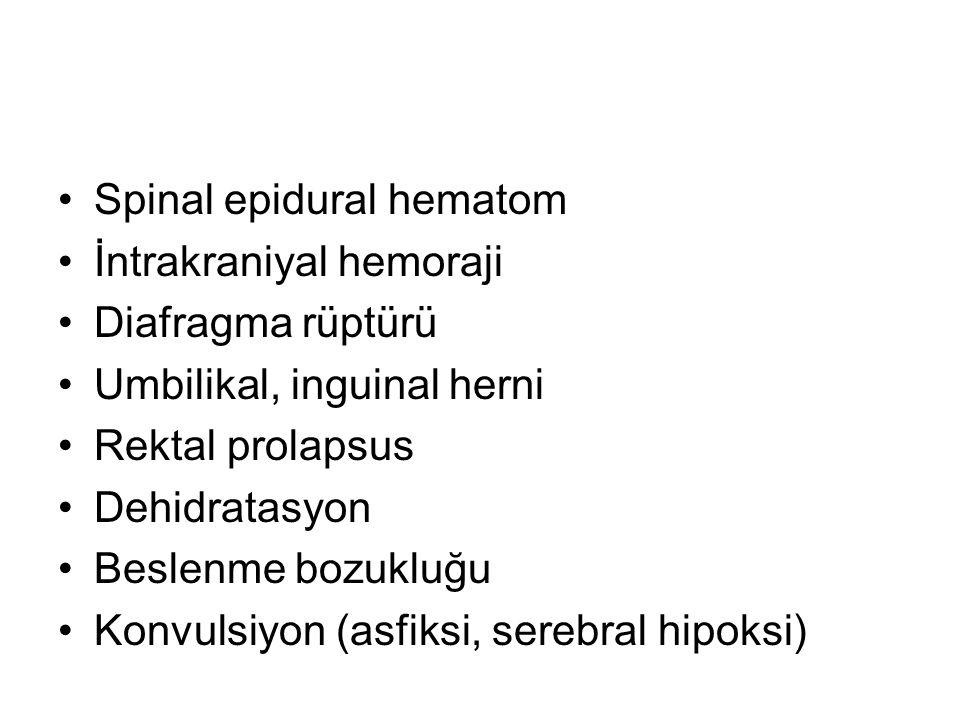 Spinal epidural hematom