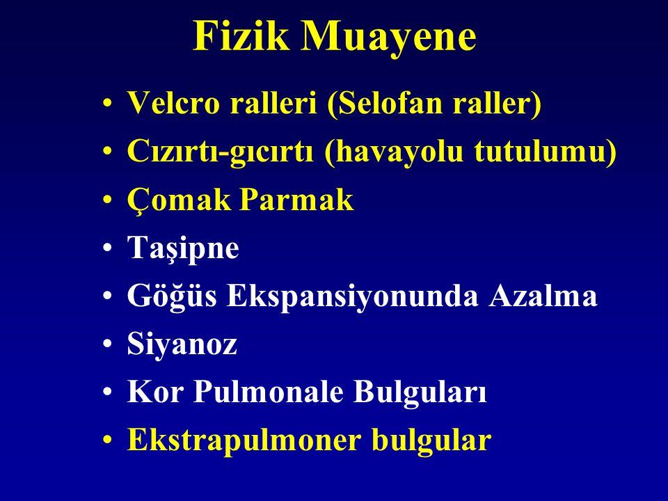 Fizik Muayene Velcro ralleri (Selofan raller)