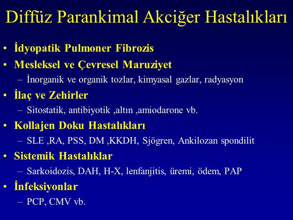 Diffüz Parankimal Akciğer Hastalıkları