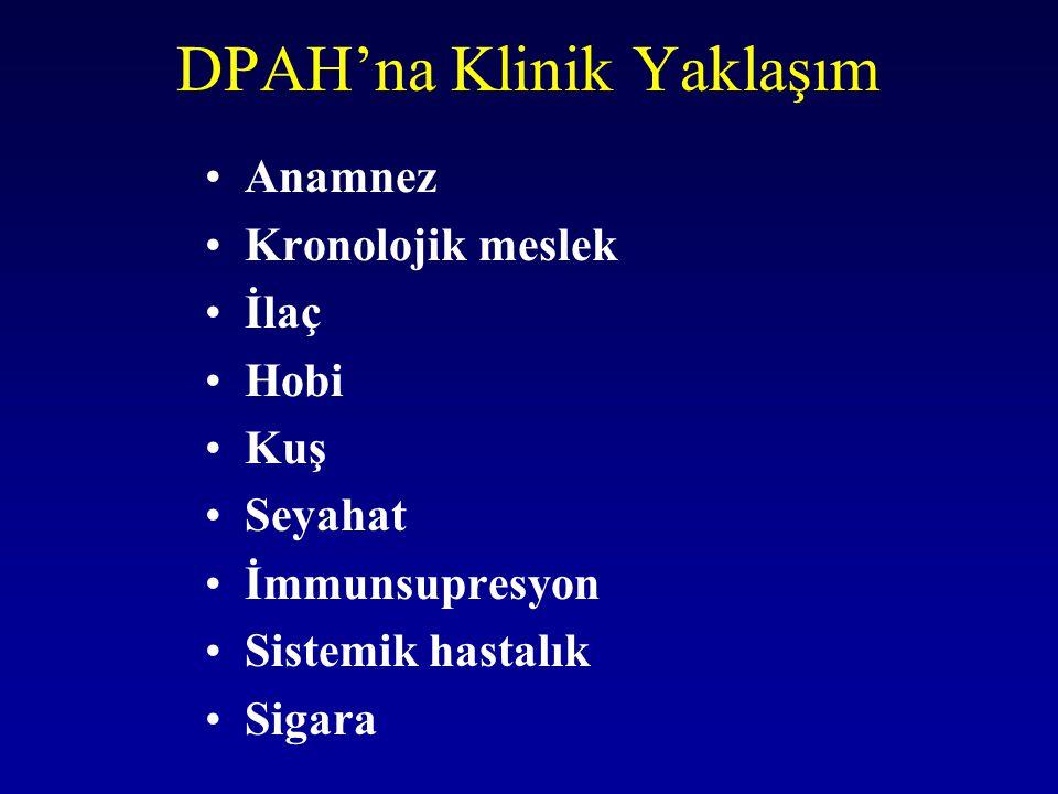 DPAH'na Klinik Yaklaşım