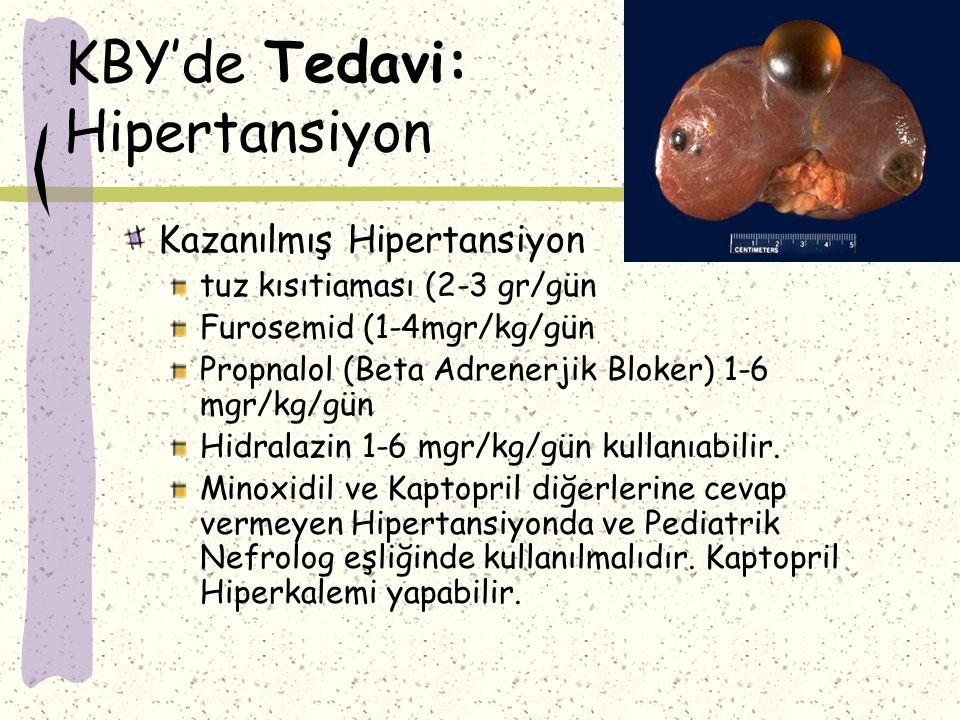 KBY'de Tedavi: Hipertansiyon