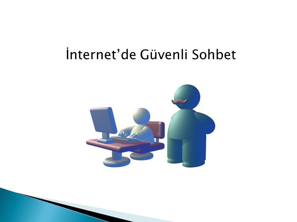 İnternet'de Güvenli Sohbet