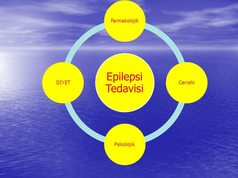 Epilepsi Tedavisi Farmakolojik Cerrahi Psikolojik DİYET