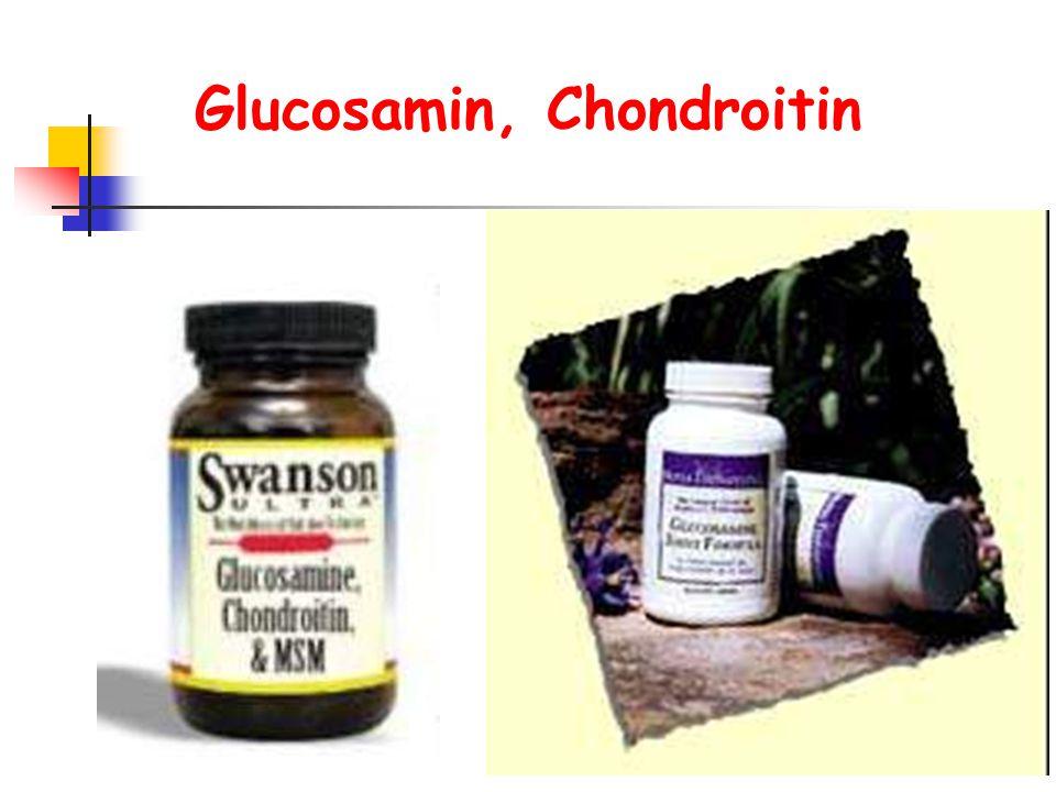 Glucosamin, Chondroitin