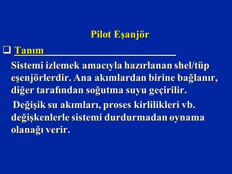 Pilot Eşanjör Tanım.