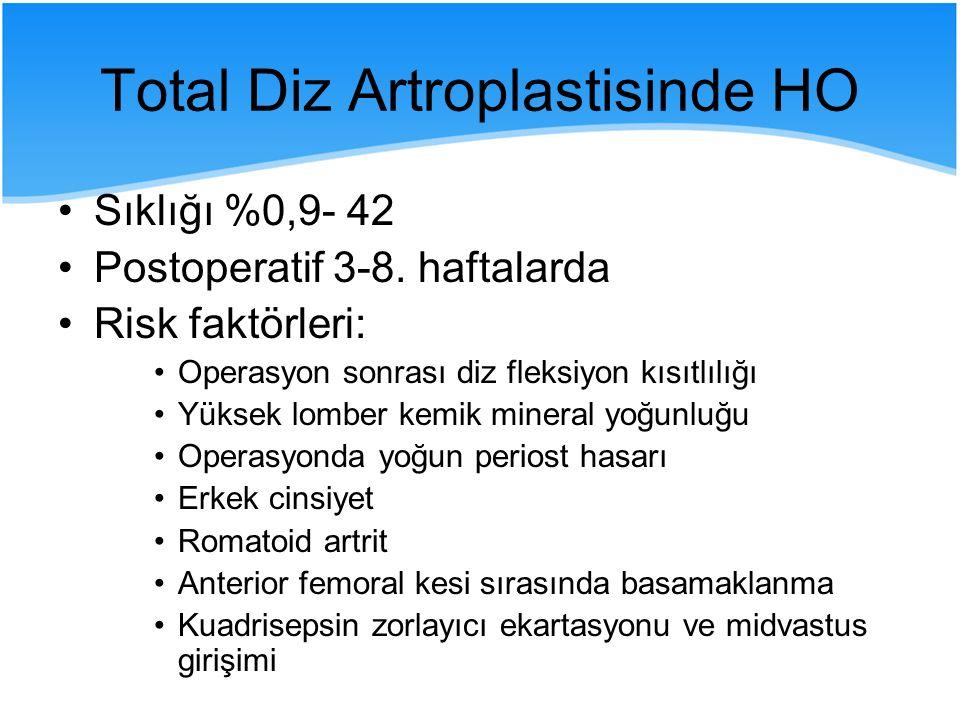 Total Diz Artroplastisinde HO