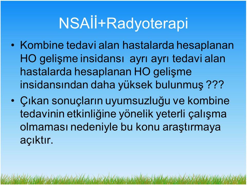 NSAİİ+Radyoterapi