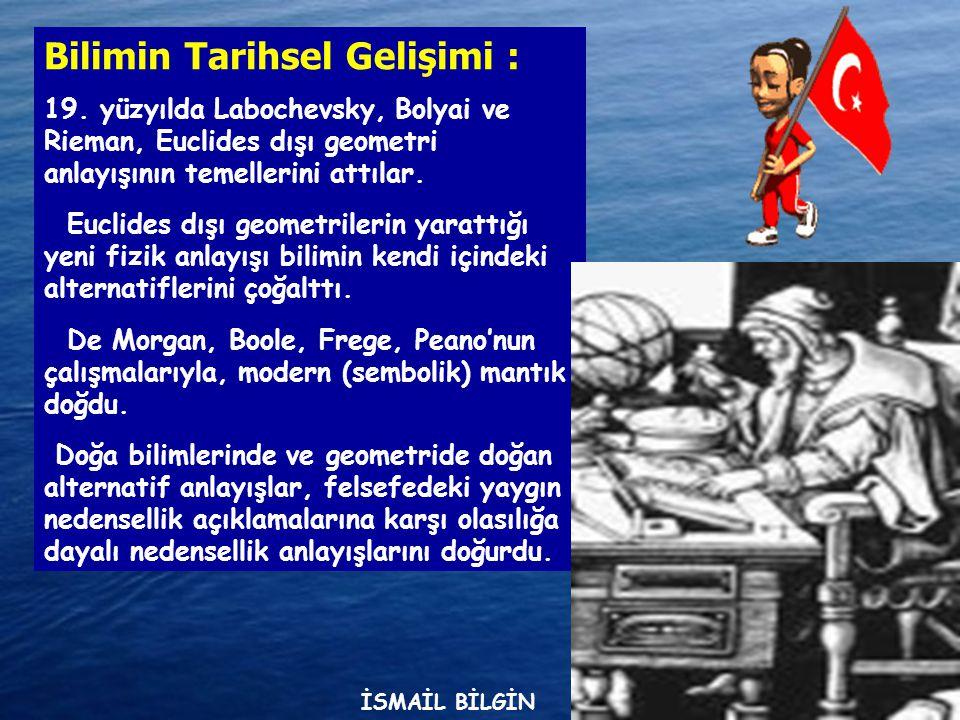 Bilimin Tarihsel Gelişimi :