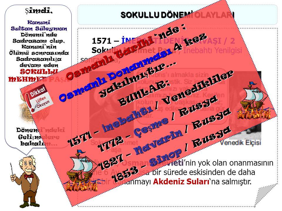 Osmanlı Donanması 4 kez yakılmıştır…