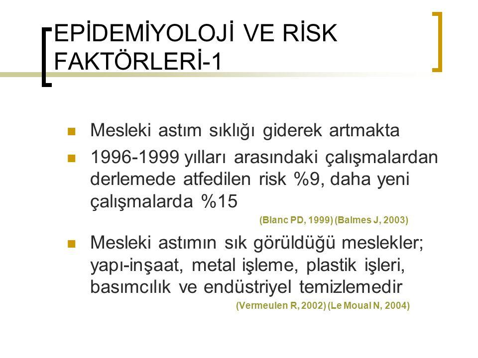 EPİDEMİYOLOJİ VE RİSK FAKTÖRLERİ-1
