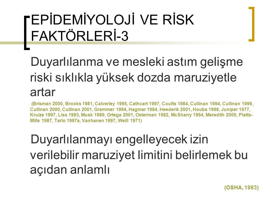 EPİDEMİYOLOJİ VE RİSK FAKTÖRLERİ-3