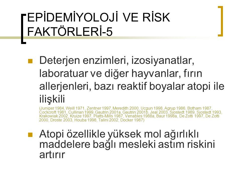 EPİDEMİYOLOJİ VE RİSK FAKTÖRLERİ-5