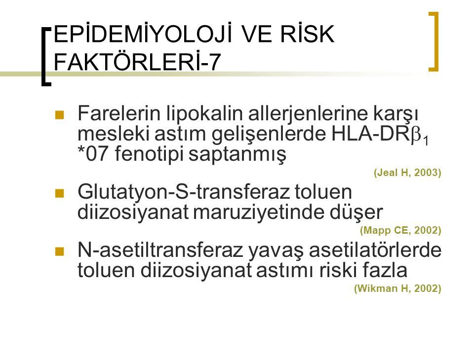 EPİDEMİYOLOJİ VE RİSK FAKTÖRLERİ-7