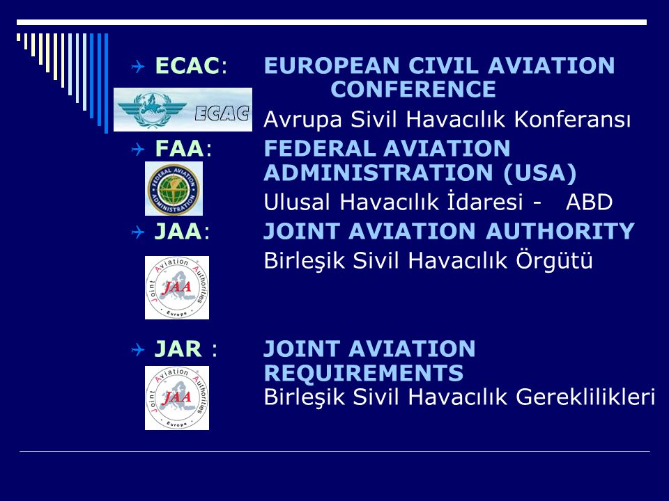 ECAC: EUROPEAN CIVIL AVIATION CONFERENCE