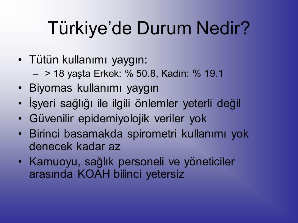 Türkiye'de Durum Nedir