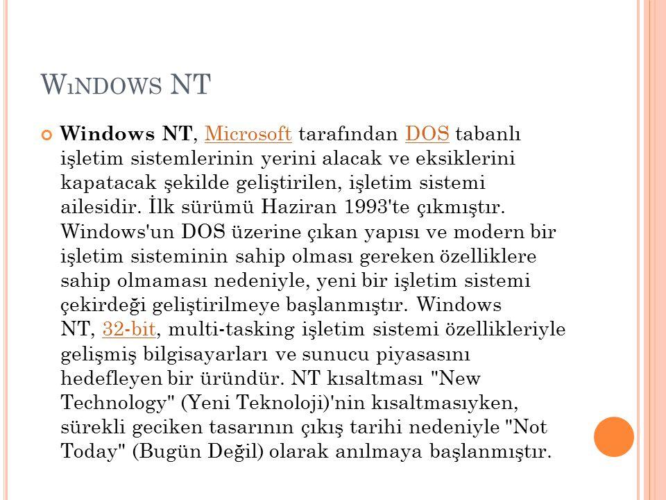 Wındows NT