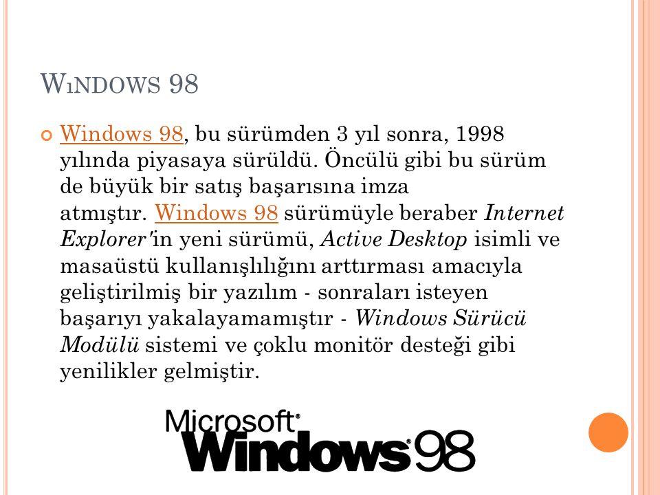 Wındows 98