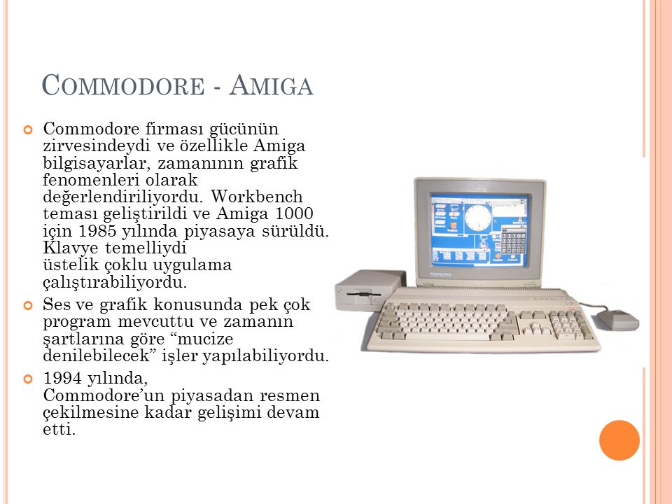 Commodore - Amiga
