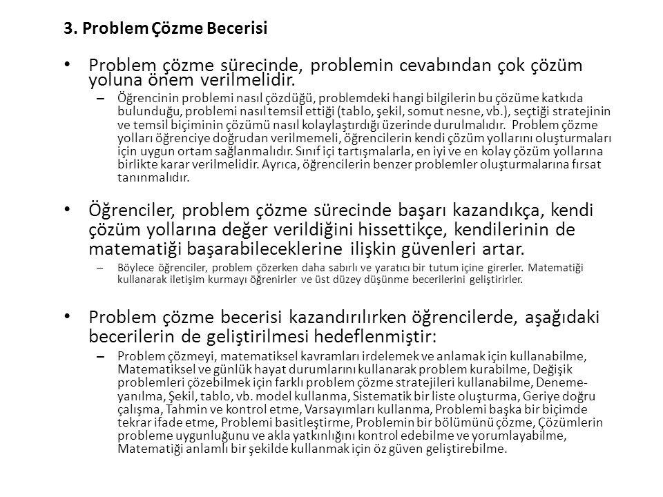 3. Problem Çözme Becerisi