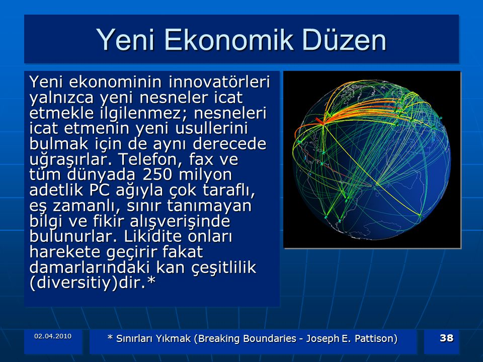 * Sınırları Yıkmak (Breaking Boundaries - Joseph E. Pattison)