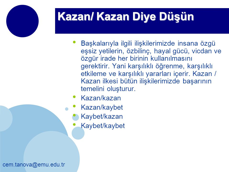 Kazan/ Kazan Diye Düşün