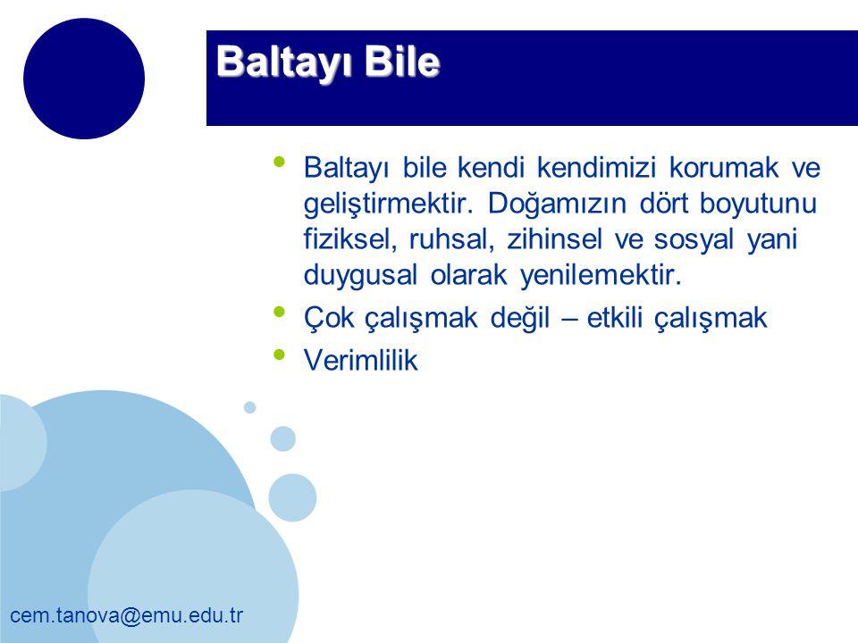 Baltayı Bile