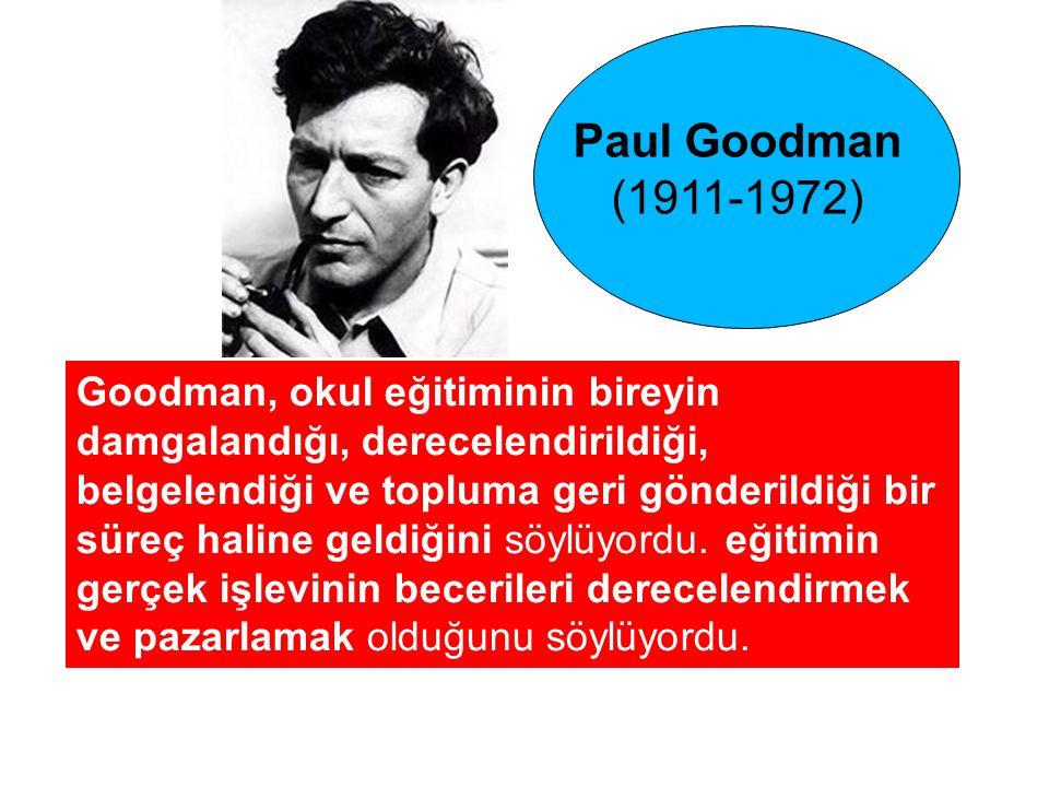 Paul Goodman (1911-1972)
