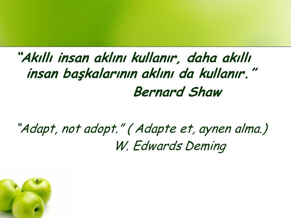 Akıllı insan aklını kullanır, daha akıllı insan başkalarının aklını da kullanır.