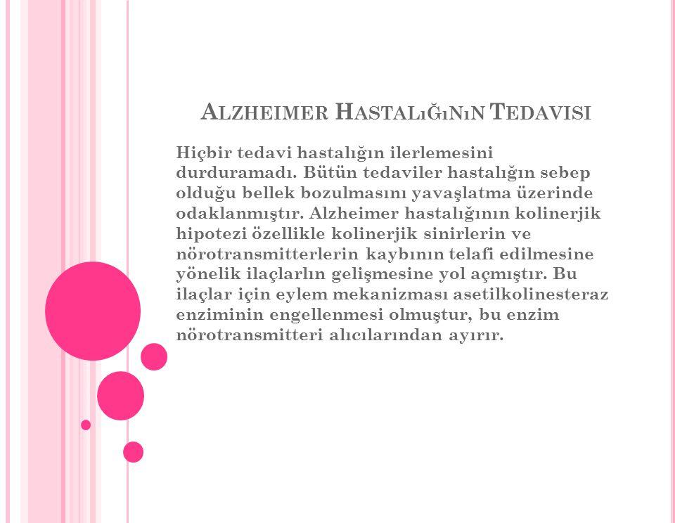 Alzheimer Hastalığının Tedavisi