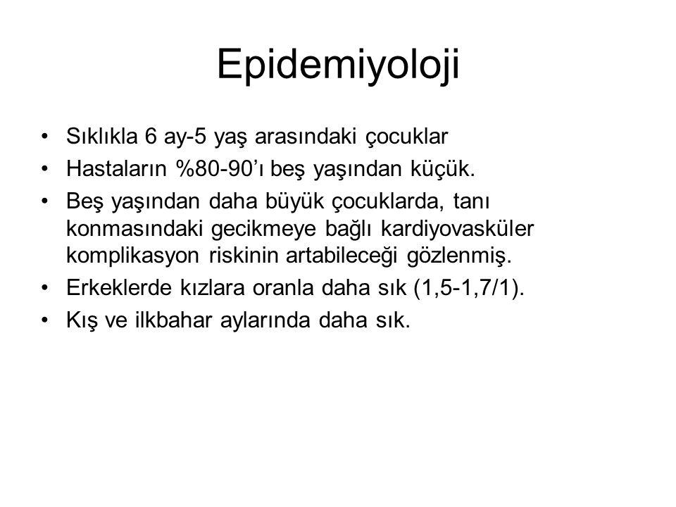 Epidemiyoloji Sıklıkla 6 ay-5 yaş arasındaki çocuklar