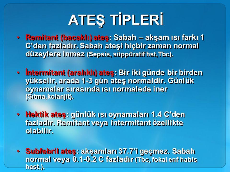 ATEŞ TİPLERİ