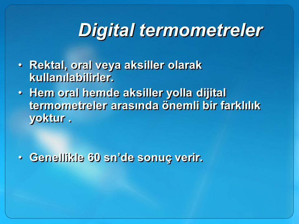 Digital termometreler