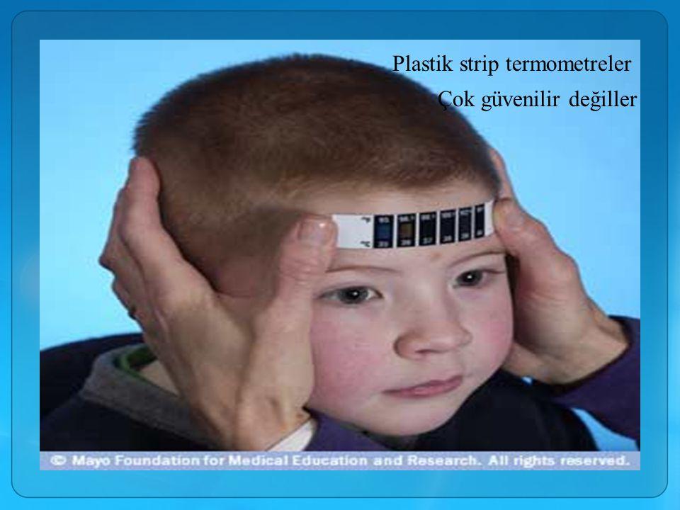 Plastik strip termometreler