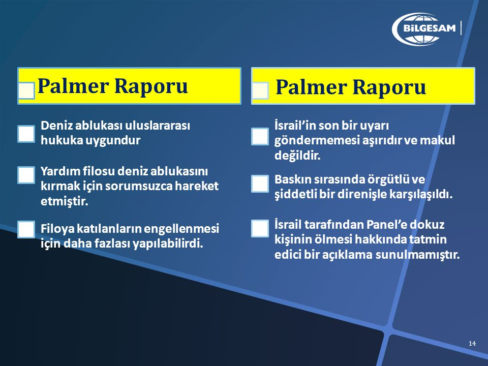Palmer Raporu Palmer Raporu