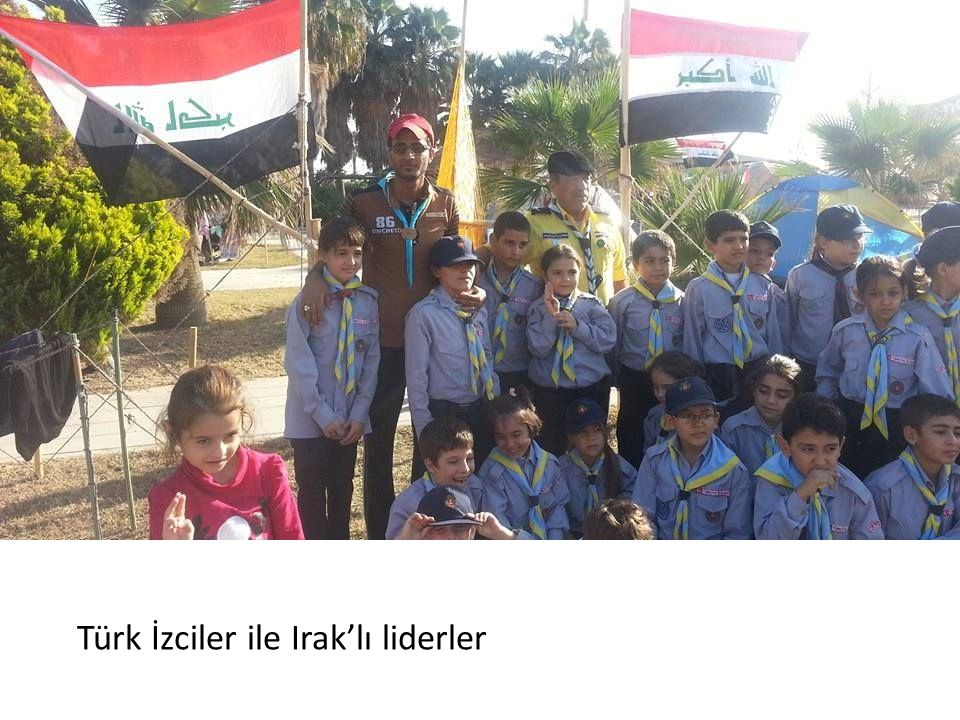 Türk İzciler ile Irak'lı liderler