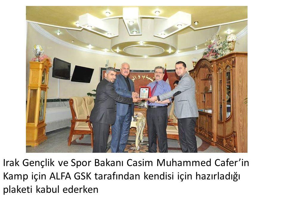 Irak Gençlik ve Spor Bakanı Casim Muhammed Cafer'in