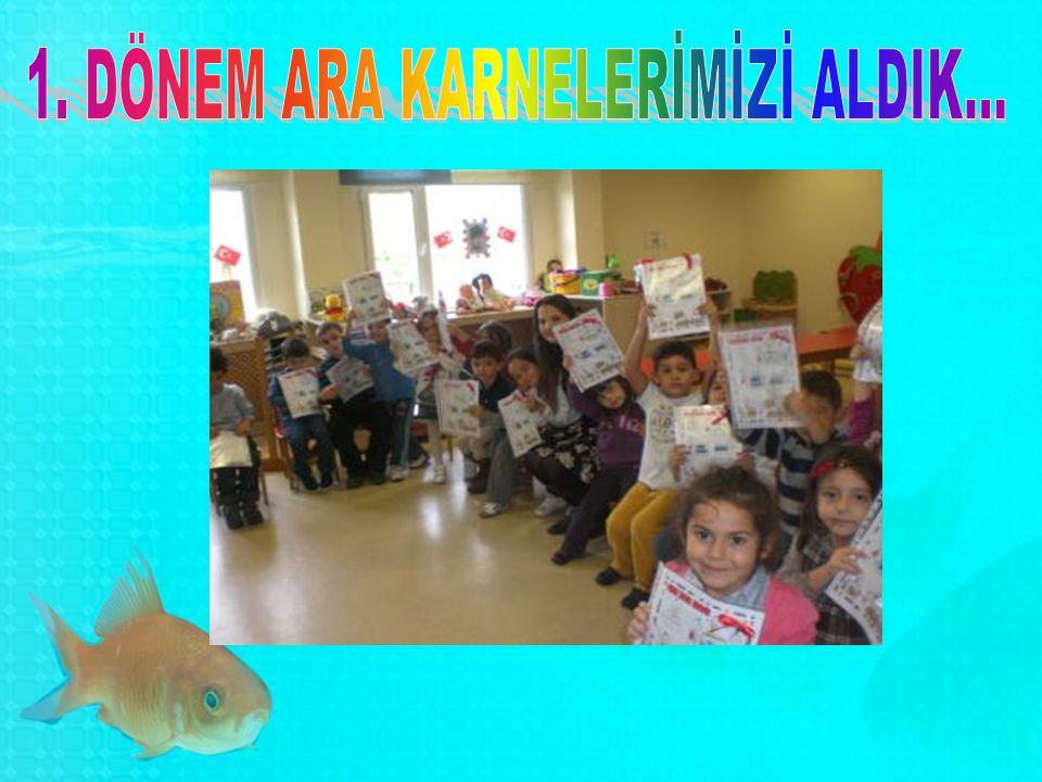1. DÖNEM ARA KARNELERİMİZİ ALDIK...