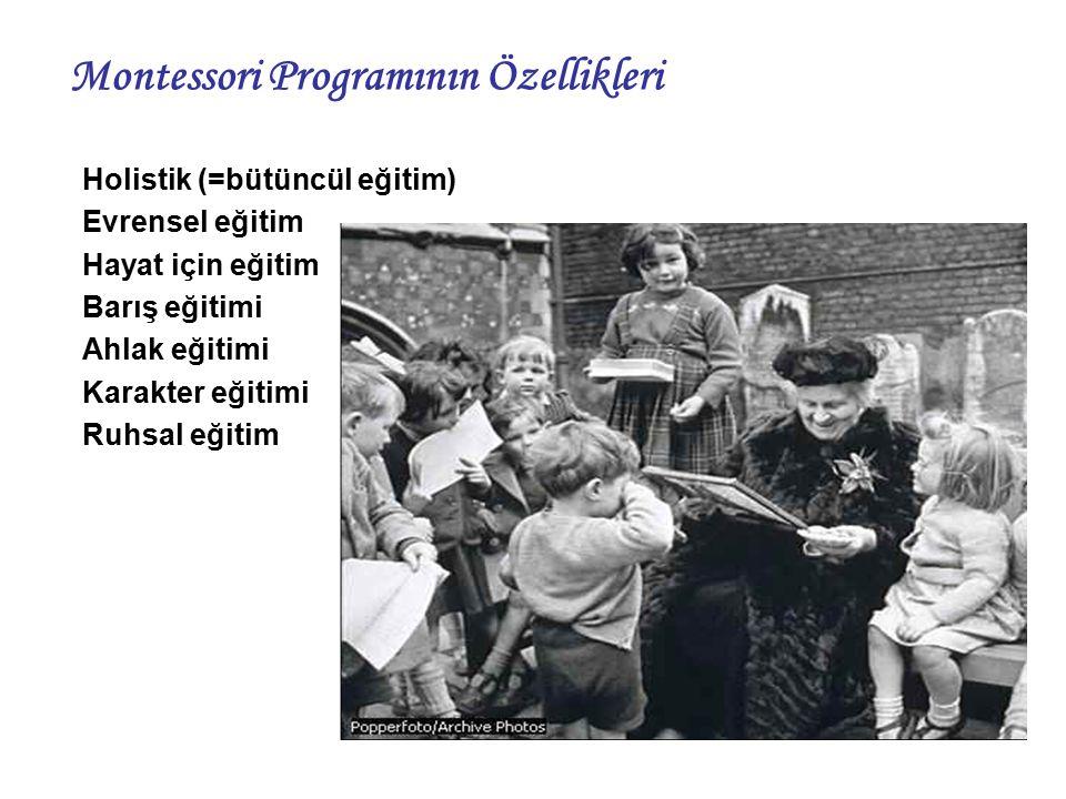 Montessori Programının Özellikleri