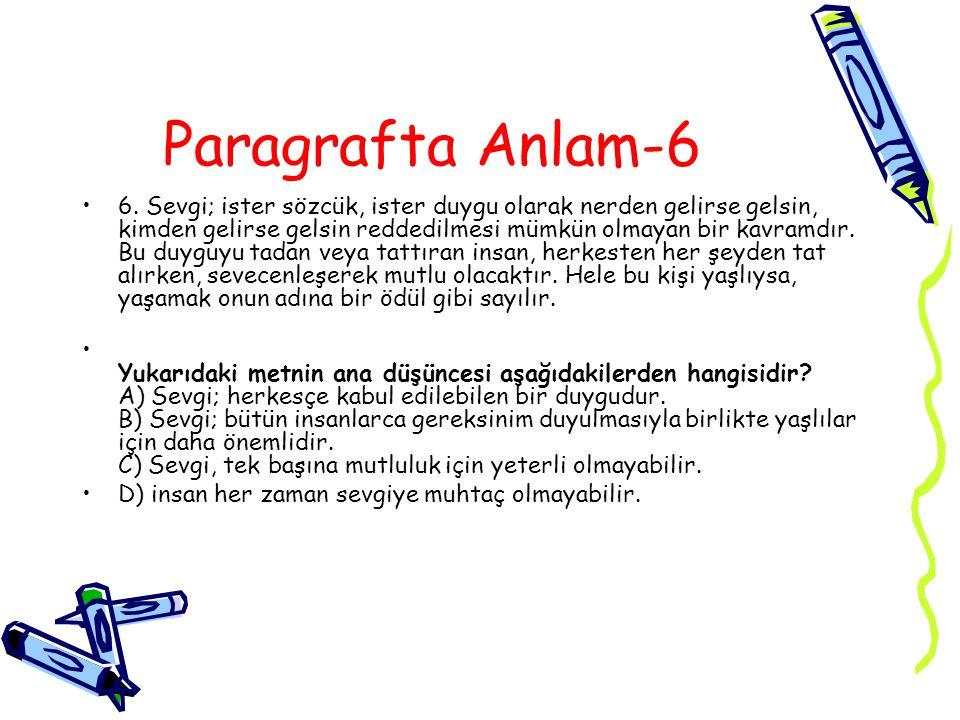 Paragrafta Anlam-6