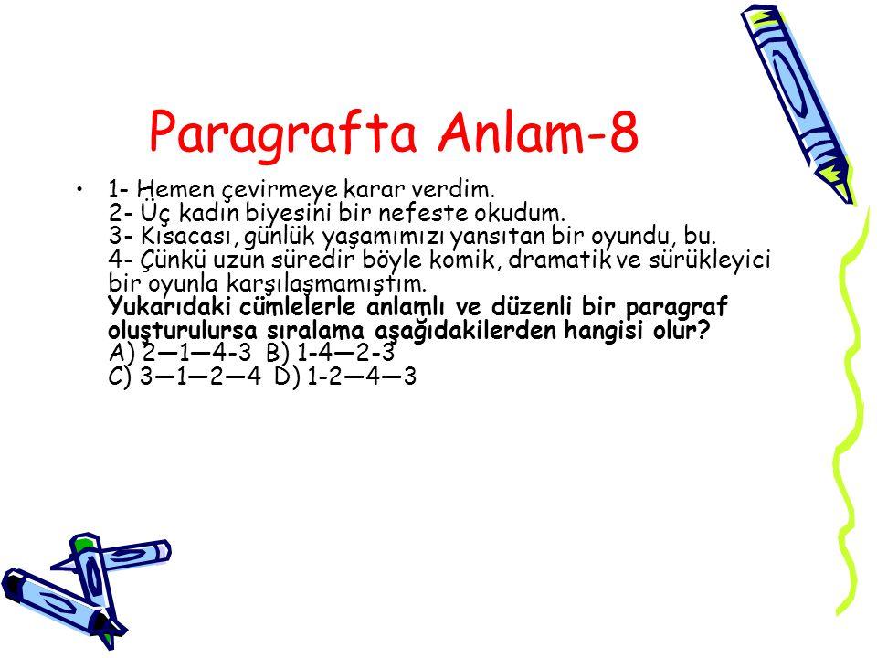 Paragrafta Anlam-8