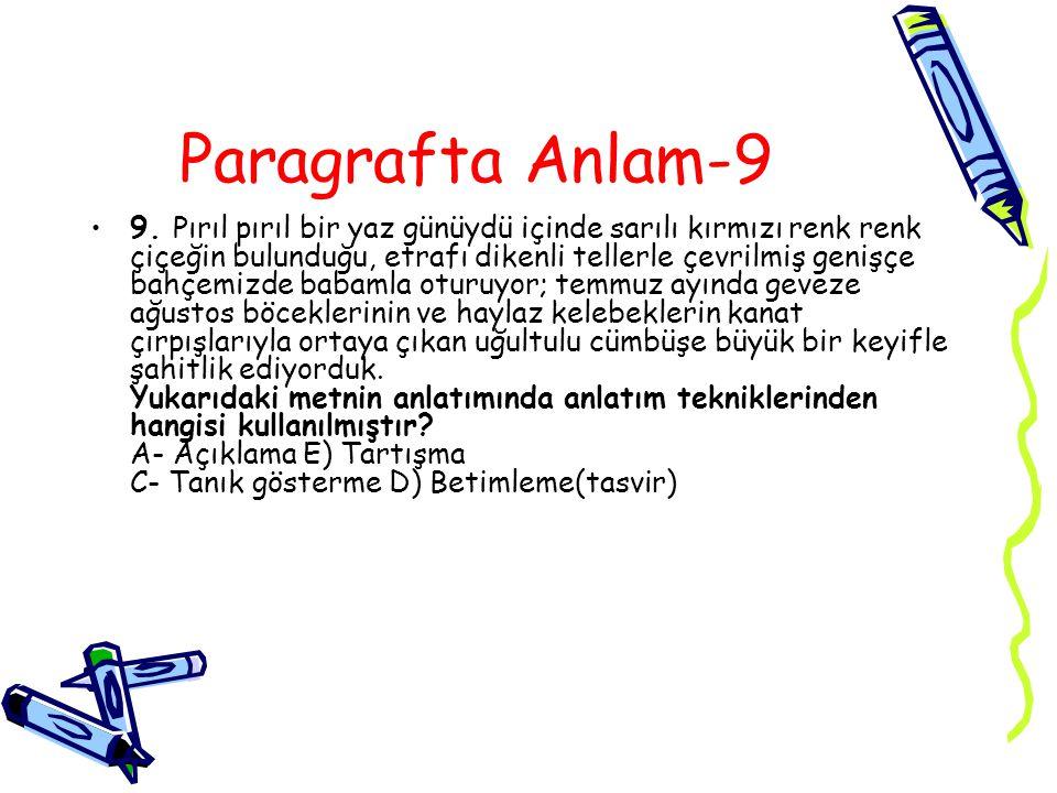 Paragrafta Anlam-9