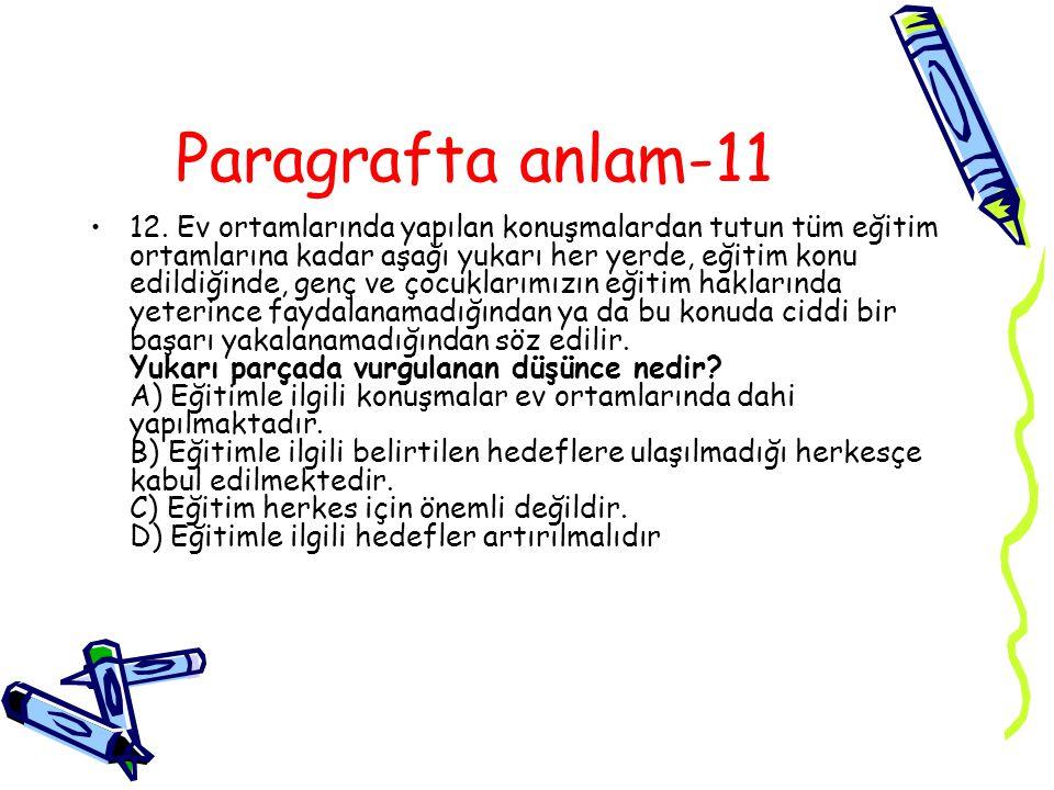 Paragrafta anlam-11